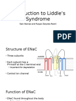 Liddle's Syndrome