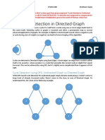 Cycle Detection in Directed Graph