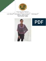 Free Crochet Pattern for PONCHO