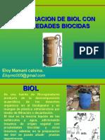 Elaboracion de Biol