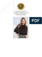 Free Knitting Pattern for Poncho