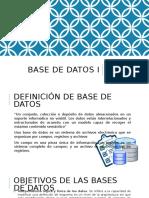 Base de Datos I Clase 1.pptx