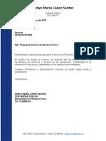 Propuesta Origina Revisoria Fiscal