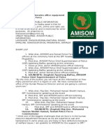 AMISOM donates office equipment to Somali Police Force