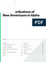 2016 Report - The Contributions of New Americans in Idaho