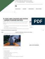 Is-10262-2009-Concrete Mix Design – Indian Standard Method _ Civilblog
