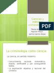 Ciencias y Métodos Criminológicos