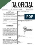 Gaceta Oficial Extraordinaria N° 6.247 - Notilogía