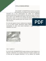 Resumen Del Texto La Ciudad Antigua