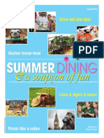 Summer Dining Supplement
