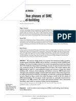 the Fi Ve Phases of SME Brand-building