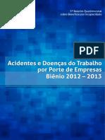 Boletim MPS _acidentes de Trabalho 2012-2013