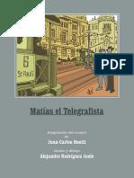 Onetti Matias El Telegrafista Historieta