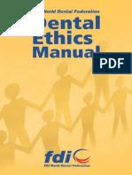 1. Manual de Ética de La FDI Cap. 1