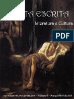 Revista Escrita n1 - Experiências de Escrita
