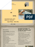Hojas de Ruta Multigrado 2016 Para Cristina