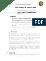Proyecto Acomita Tupac Amaru 2016-i