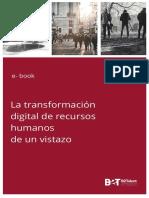 La Transformacion Digital de Recursos Humanos de Un Vistazo