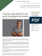 A Bumpy Road Ahead for Non-profit Investigative Journalism _ JSK