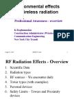 Slides_Environmental Effects of Wireless Radiation