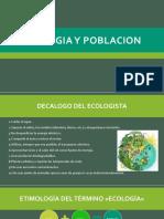 1. Ecologia y Poblacion