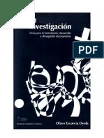 Manual Para La Investigacion - Escorcia Oyola Olavo