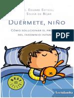 Duermete Nino - Eduard Estivill