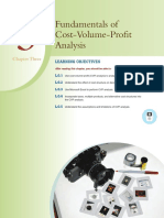 Fundamentals of Cost -Volume-Profit Analysis Chapter_3