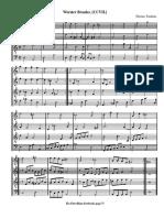 Worst Er. for recorder quartet