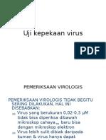 Kul 11. Uji Kepekaan Virus