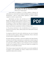 Carta de Ambientalistas Latinoamericanos 2016