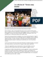 """17-05-16 Arranca Tercera Edición de """"Torneo Muy Especial"""" de Béisbol - Canal Sonora"""