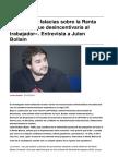 Sinpermiso-una de Las Falacias Sobre La Renta Basica Es Que Desincentivaria Al Trabajador. Entrevista a Julen Bollain-2016!08!02
