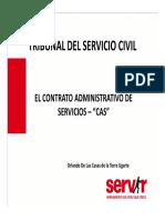 Tribunal Del Servicio Civil CAS