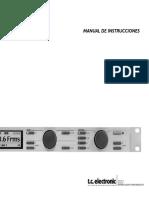 Tc Electronic d22 Manual Spanish