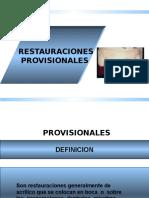 Provisionales Protesis Fija