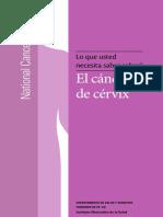 Libro Cancer Cuello Cervical