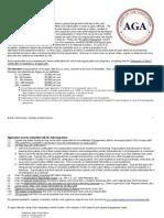 2016 AGA Standards