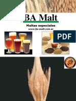 Cebada Malteada