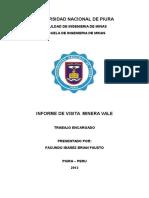 Informe de Visita a La Mimna Fosfatos de Bayovar