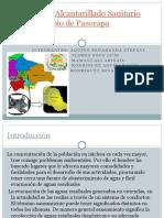 Sistema de Alcantarillado Sanitario Del Municipio de Pasorapa PROYECTO SANI