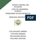 Mercado Mayorista-problemas Socieconomicos