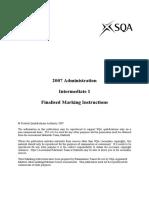 Admin 2007 - Int 1 Solution