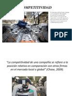 Competitividad y Costos de Manufactura (10.09.2014)