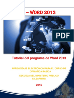 Manual de Word 2013 - Escuela