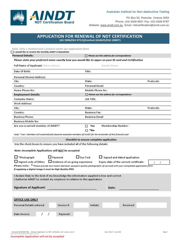 frm certification renewal