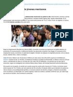 Aumentan Suicidios de Jvenes Mexicanos