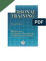Personal Training - Manual Para Avaliação e Prescrição de Condicionamento Físico - Walace Monteir