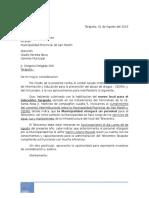 Carta Muni Tarapoto - Solicitud de Personal