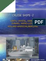 CRUISE SHIPS - 2 (Costa to Ncl)